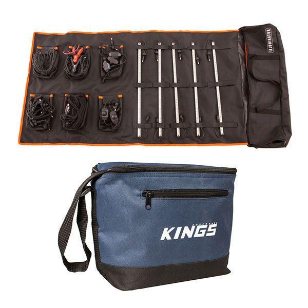 Adventure Kings Complete 5 Bar Camp Light Kit + Cooler Bag