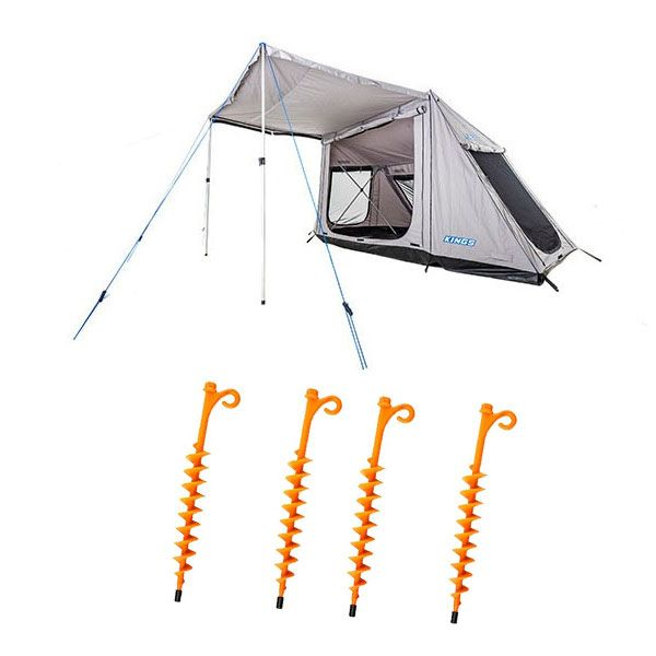 Adventure Kings Swift 5-person Tent + 4x GroundGrabba - Lite