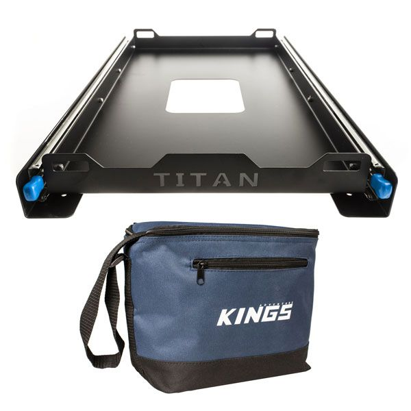 Titan 60L Fridge Slide + Adventure Kings Cooler Bag