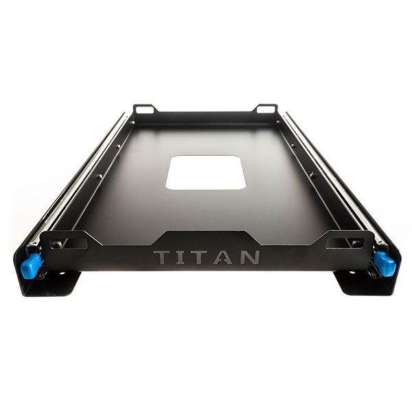 Titan Fridge Slide |Suits Up To 60L Fridges | Twin Locking Runners | Heavy-Duty