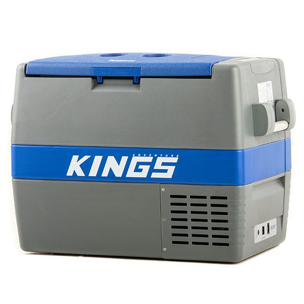 60L Camping Fridge/Freezer | 88 Can Capacity | Secop Compressor | 12v/240v | Adventure Kings