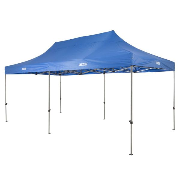 Portable Gazebo 6m x 3m | Heavy Duty Steel Frame | UPF50+ | Waterproof | Adventure Kings