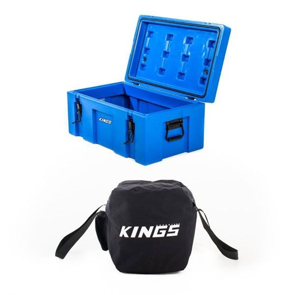 Adventure Kings 78L Tough Tool Box + 40L Duffle Bag