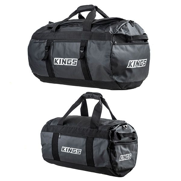 Kings 80L Extra-Large PVC Duffle Bag + 40L Large PVC Duffle Bag