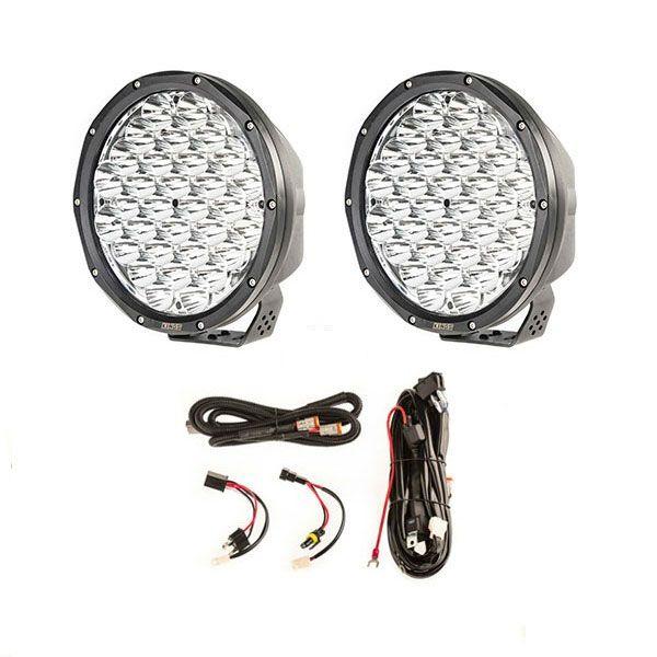 """9"""" Slim Line LED Driving Lights + Smart Harness"""