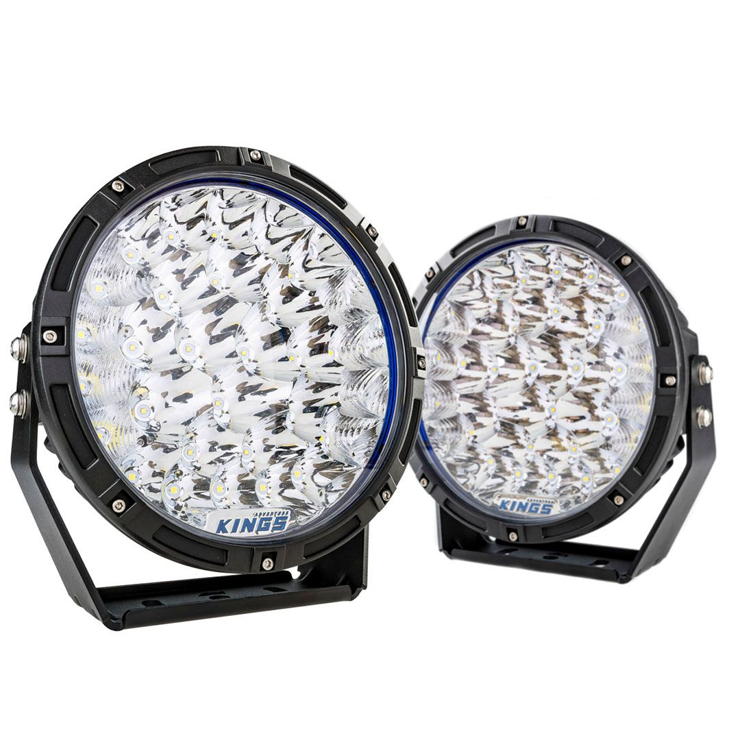 """Kings Lethal 9"""" Premium LED Driving Lights (Pair) 