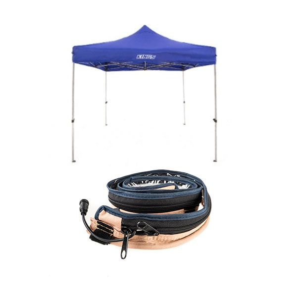 Adventure Kings - Gazebo 3m x 3m + LED Strip Light