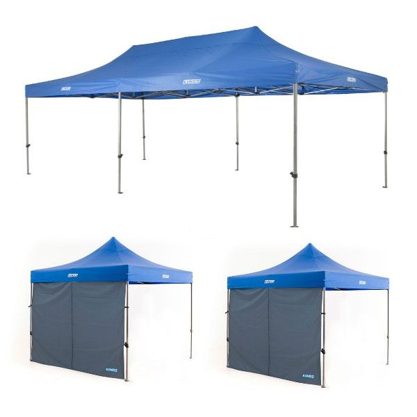 Adventure Kings - Gazebo 6m x 3m + 2x Adventure Kings Gazebo Side Wall