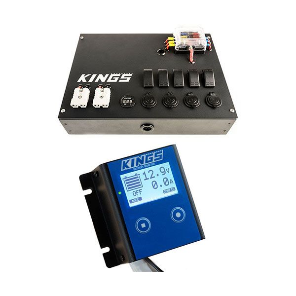 Adventure Kings 12V Control Box + 12V Battery Monitor
