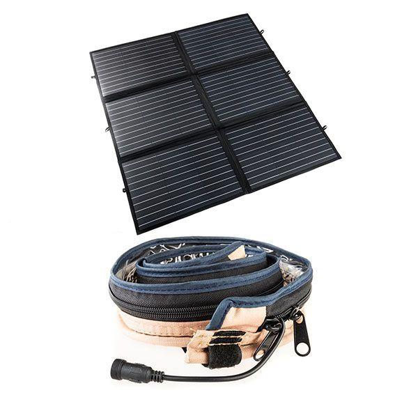 Adventure Kings 200W Portable Solar Blanket + Illuminator MAX LED Strip Light