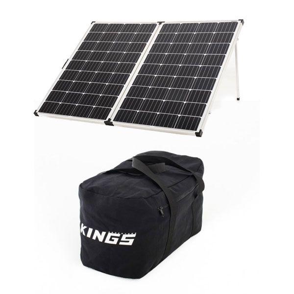 Adventure Kings 250w Solar Panel + 40L Duffle Bag
