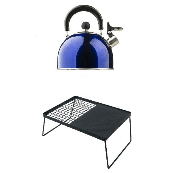 Adventure Kings Camping Kettle + BBQ Plate