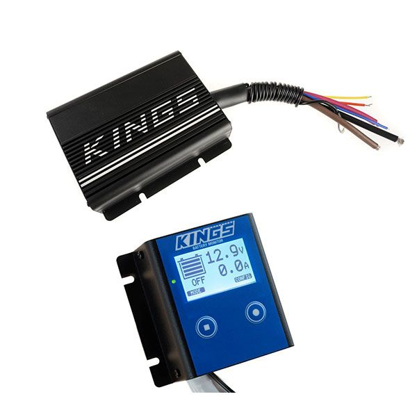 Adventure Kings 20AMP DC-DC Charger + 12V Battery Monitor