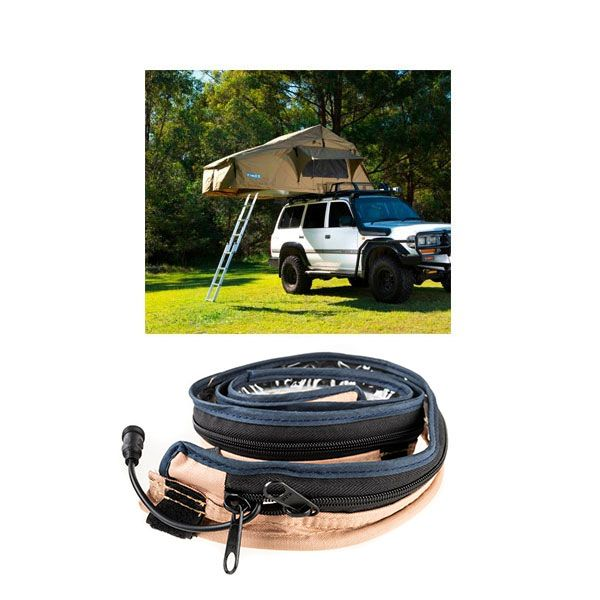 Adventure Kings Roof Top Tent + Adventure Kings LED Strip Light
