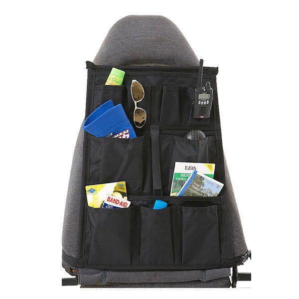 Kings Car Seat Organiser | Universal Fit | Multiple Pockets | Adventure Kings