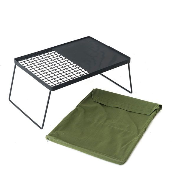 Camp Fire BBQ Plate   Combo Grill and Hotplate   Campfire Cooking   Adventure Kings