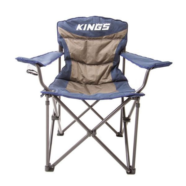 Adventure Kings Throne Camping Chair | Rated to 300kg | Xtra Thick Padding | Incl Carry Bag