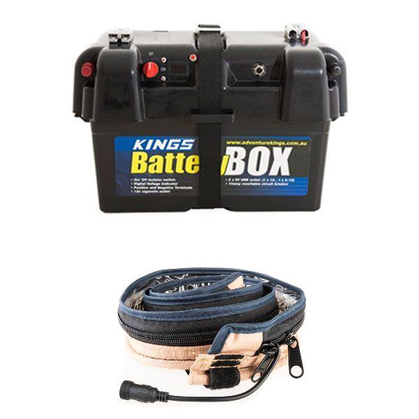 Adventure Kings Battery Box + Adventure Kings LED Strip Light