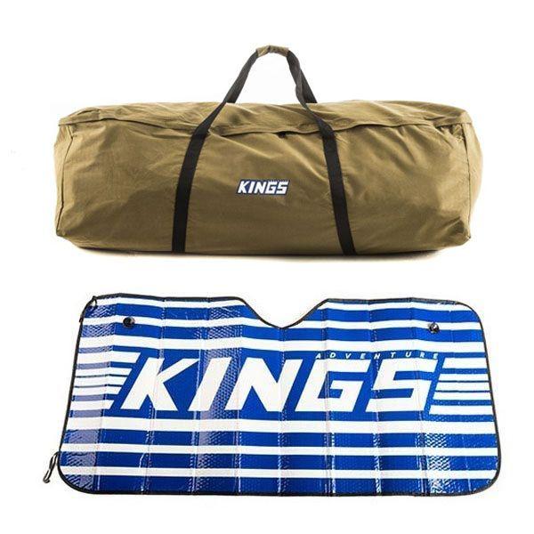 Kings Swag Canvas Bag + Sunshade