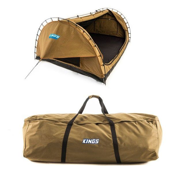 Adventure Kings Big Daddy Double Swag + Swag Canvas Bag