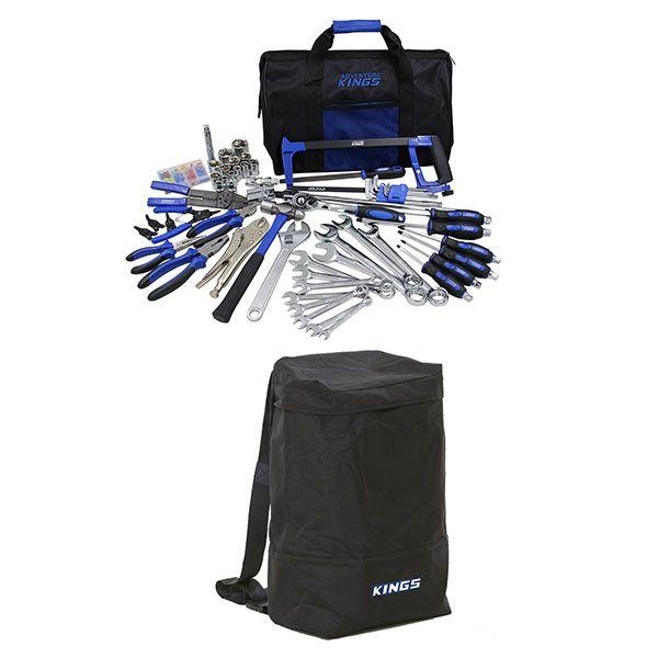 Adventure Kings Tool Kit - Ultimate Bush Mechanic + Dirty Gear Bag