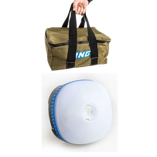 Adventure Kings Canvas Recovery Bag + Mini Lantern