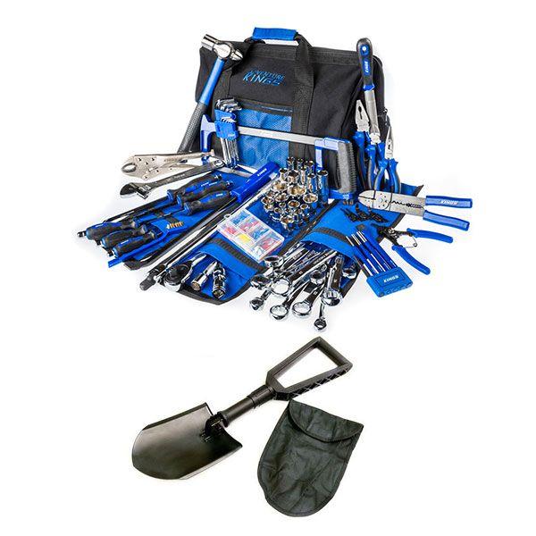 Big Daddy Bush Mechanic Toolkit + Recovery Folding Shovel