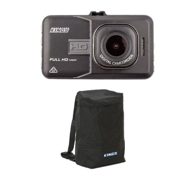 Adventure Kings Dash Camera + Adventure Kings Dirty Gear Bag