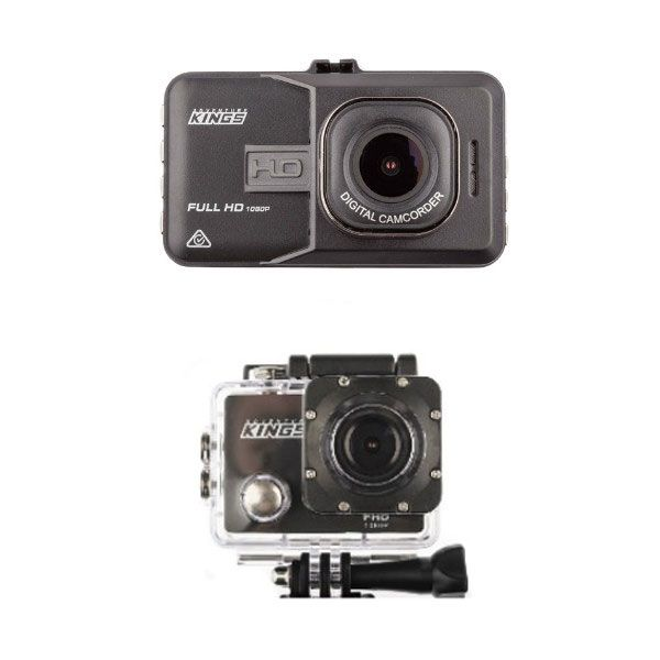Adventure Kings Dash Camera + Action Camera