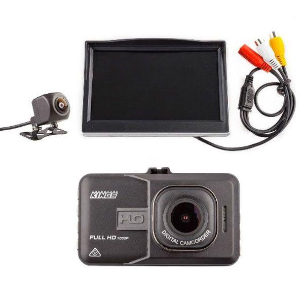 "Adventure Kings Dash Camera + Adventure Kings Reverse Camera Kit with 5"" Screen"