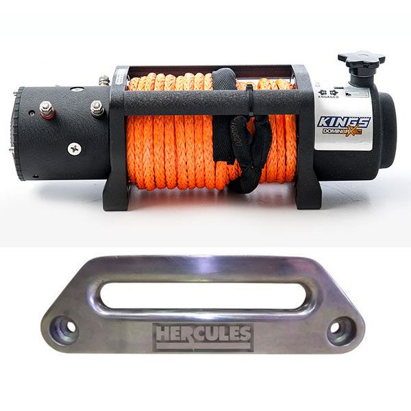 Domin8r X 12,000lb Winch with rope + Hercules Offset Fairlead