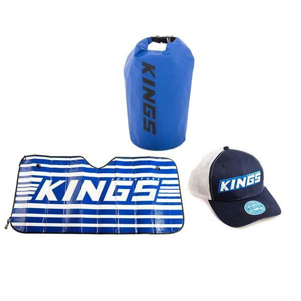 Adventure Kings 15L Dry Bag + Sunshade + Trucker's Hat