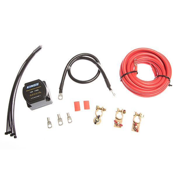 Adventure Kings Dual Battery System Smart Isolator | Full DIY Kit