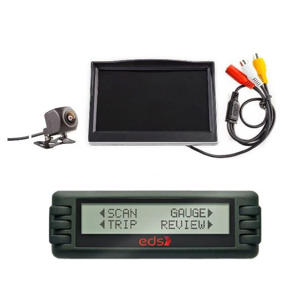 """Engine Data Scan Computer + Adventure Kings Reverse Camera Kit with 5"""" Screen"""