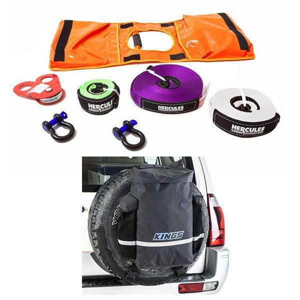 Hercules Essential Recovery Kit + Kings Premium 48L Dirty Gear Bag