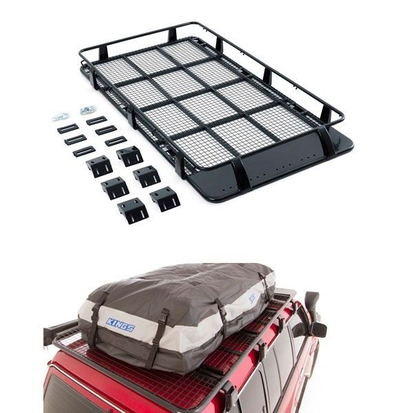 Roof Top Tent Racks + Adventure Kings Premium Waterproof Roof Top Bag