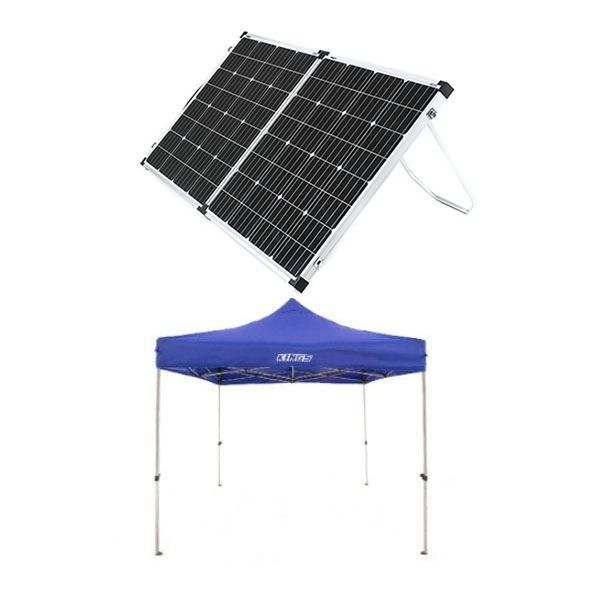 Adventure Kings - Gazebo 3m x 3m + Adventure Kings 160w Solar Panel