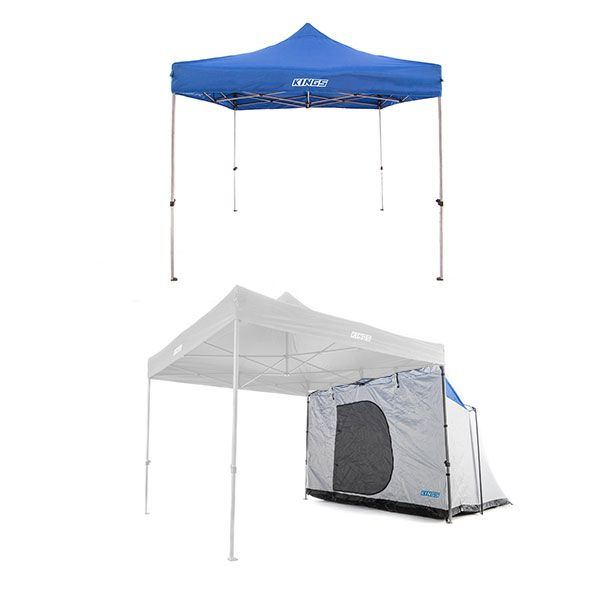 Adventure Kings Gazebo 3m x 3m + Gazebo Hub