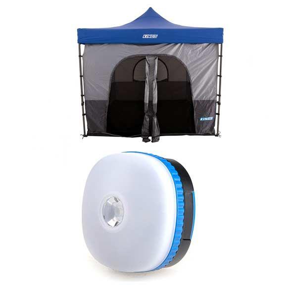 Adventure Kings Gazebo Tent + Mini Lantern