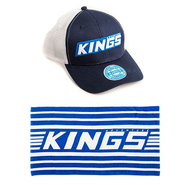 Adventure Kings Beach Towel Twin-Pack + Adventure Kings Trucker's Hat