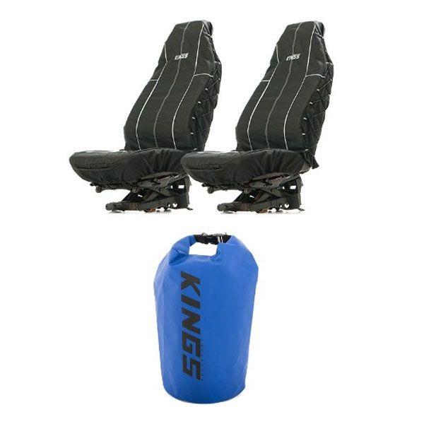 Adventure Kings Heavy Duty Seat Covers + 15L Dry Bag