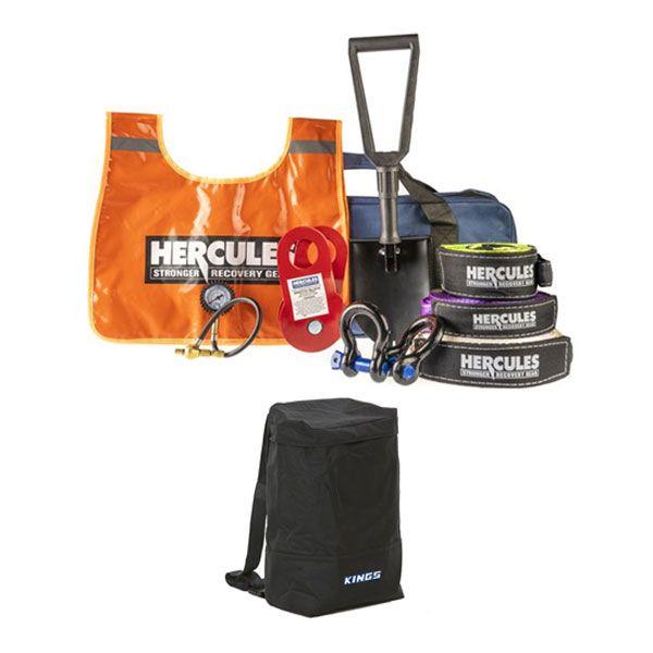 Hercules Complete Recovery Kit + Adventure Kings Dirty Gear Bag
