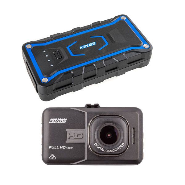 Adventure Kings Jump Starter + Dash Camera