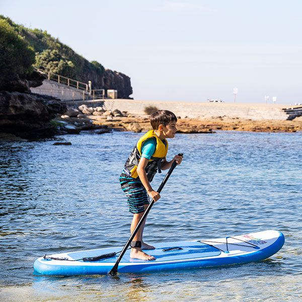 Kids Inflatable Stand-Up Paddle Board | 6ft 10in | HUGE 70kg rating | Inc. Pump and paddle