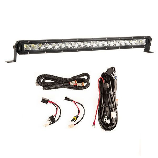 "Kings 20"" Slim Line LED Light Bar + Smart Harness"