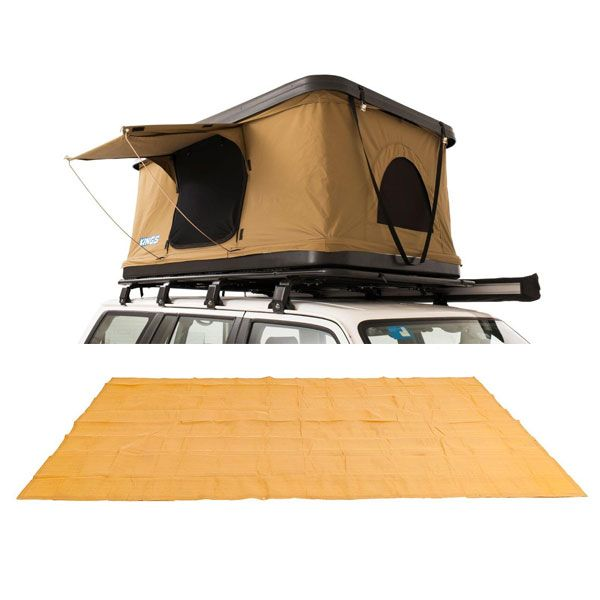 Kings Kwiky MKII Hard Shell Rooftop Tent + Mesh Flooring 6m x 3m