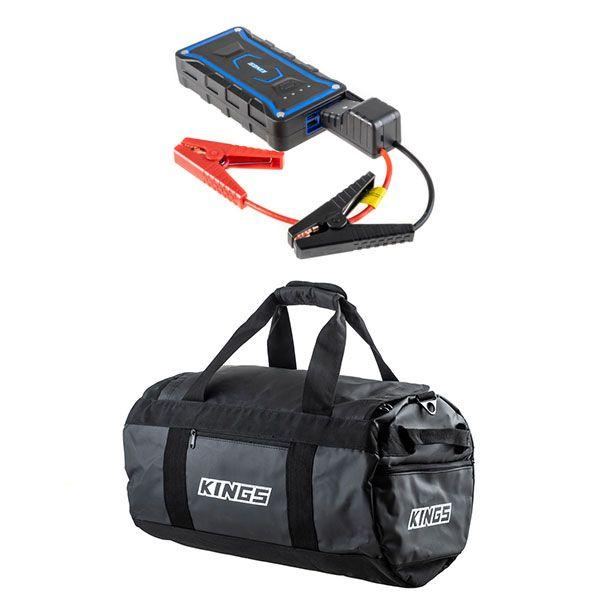 Kings 40L Large PVC Duffle Bag + Jump Starter