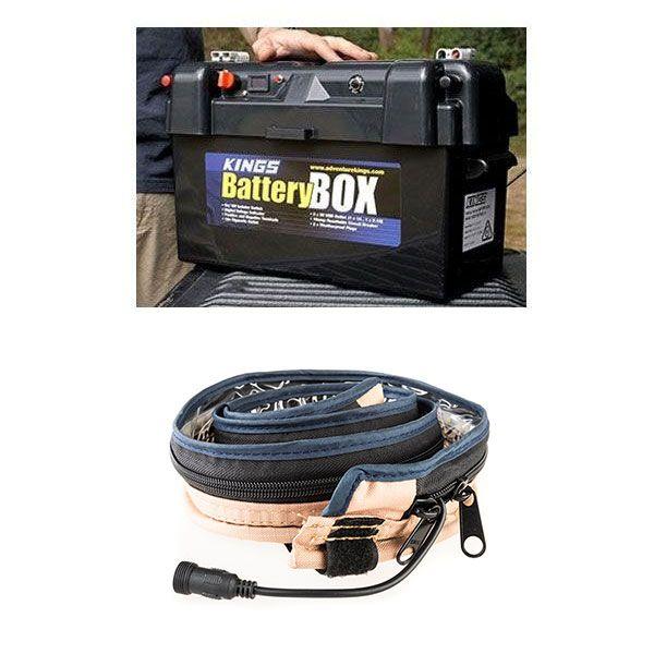 Adventure Kings Maxi Battery Box + Illuminator MAX LED Strip Light