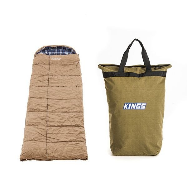 Premium Sleeping bag -5°C to 5°C Degrees Celsius Right Zipper + Doona/Pillow Canvas Bag