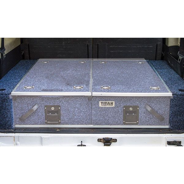 Wings For Titan Rear Drawers - Suitable for 100/105 Series GXL (Sep 1998-2005 No Air Con in rear)